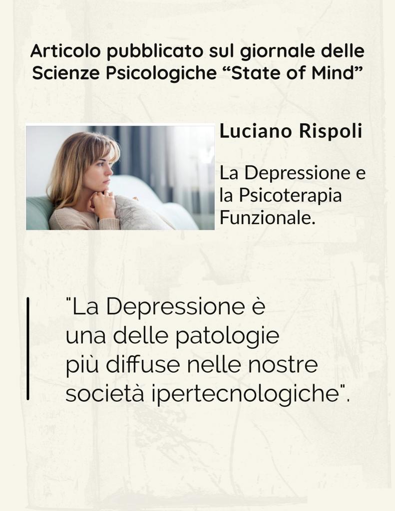luciano rispoli psicologo articolo depressione psicoterapia